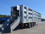 Полуприцеп для перевозки свиней в 3 яруса Тонар-9827